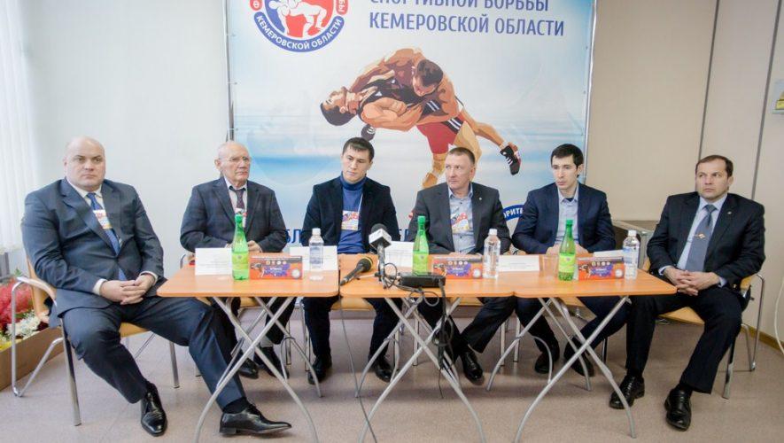 Пресс-конференция первенства по греко-римской борьбе