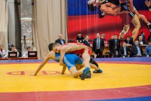 Первенство России по греко-римской борьбе среди юношей