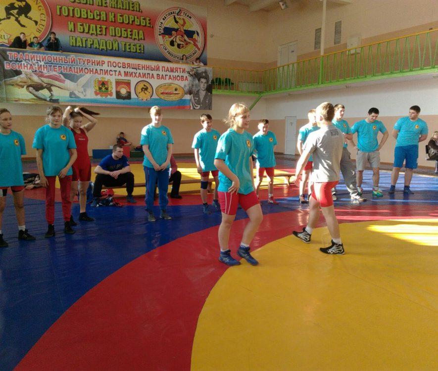 турнир, посвященный памяти воина-интернационалиста Михаила Ваганова