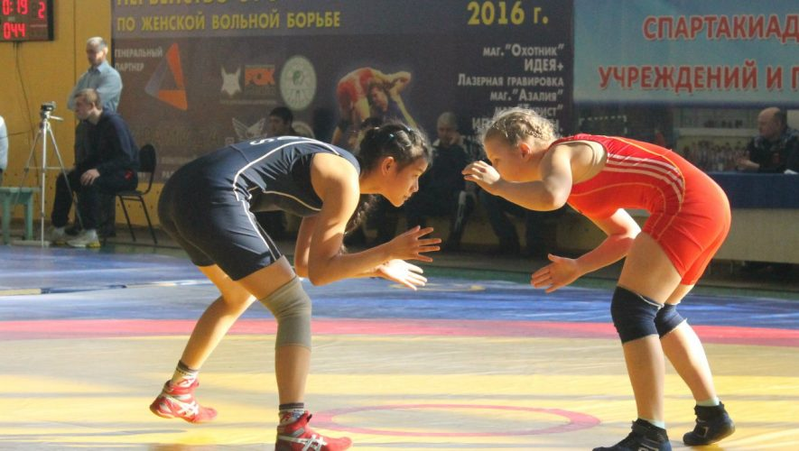 Первенство Сибирского федерального округа по женской борьбе среди девушек и кадеток