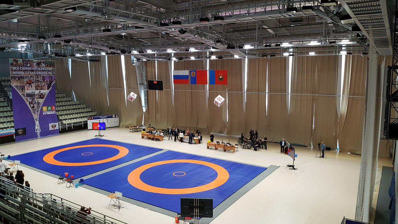 Чемпионат СФО по вольной борьбе Кемерово