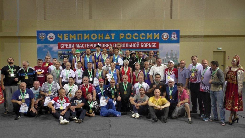 Чемпионат России среди ветеранов 2018 Смоленск