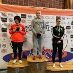 """Анастасия Новикова, """"золото"""", весовая категория до 73 кг."""